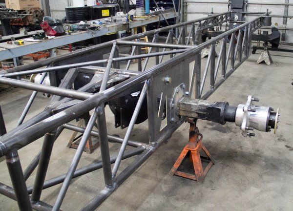 4x4 Pulling Truck Parts : Pulling truck chassis pictures to pin on pinterest