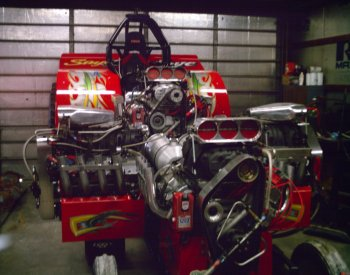 tractor pulling engine service shop machine